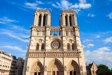 Notre Dame w Paryżu, Francja