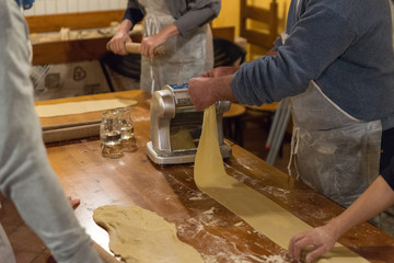 Fresh pasta cooking class