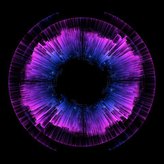 Czerwony pierścień Świecąca spirala. Tunel przepływu energii. Świecą okrągłe kręgi światła. Efekt świetlny. Świecąca osłona. Miejsce na wiadomość. Kula świetlna. Moc atomowa. Dysk neonowy. Żywe linie. Płyny Astralne. Wielki Wybuch
