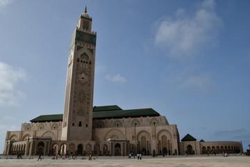Mezquita Hassan II, Casablanca, Marruecos, Africa