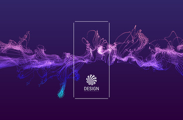 3d futuristic technology style. Abstract background. Vector illustration.