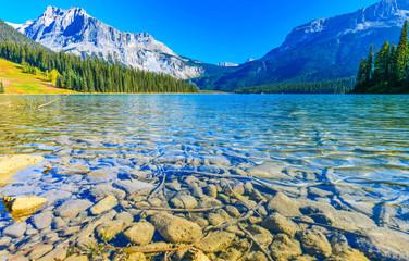 Emerald Lake, Park Narodowy Yoho w Kanadzie