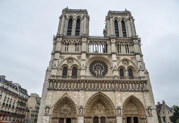 Architecture of Notre-Dame de Paris