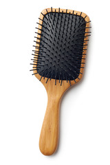 Bamboo Paddle Hair Brush