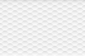 Abstract white and gray texture background. 3d curve seamless pattern. Vector illustration