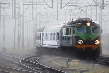 Pociąg we mgle