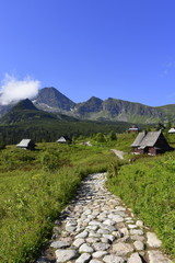 Tatry Dolina Gąsienicowa, Tatrzański Park Narodowy , TPN