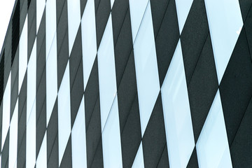 abstract building background with lines
