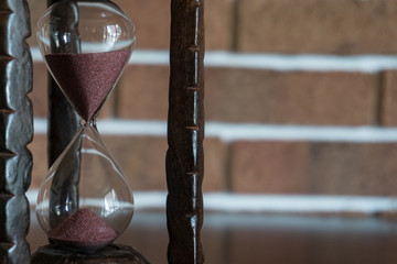 Antique Table Hourglass