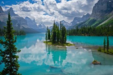 Spirit Island Jasper National Park, Canada