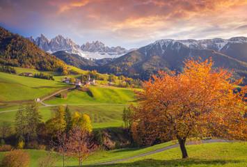 Santa Magdalena, Funes Valley, Trentino Alto Adige, Italy
