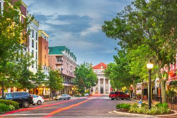 Gainesville, Florida, USA downtown
