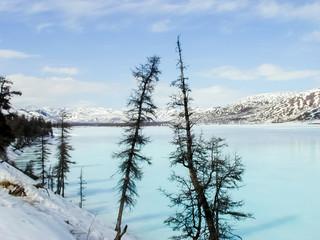 The nature of Chukotka, landscape of Chukotka