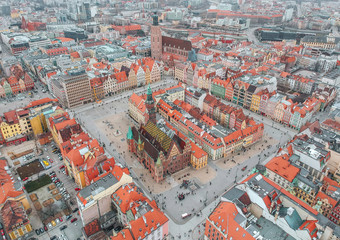 Wroclaw from above