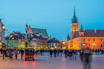 Plac Zamkowy- Warszawa, Polska