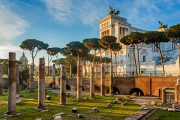 Wiktoriański zabytek buduje w Rzym