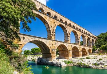 Nimes, France. Pont du Gard.