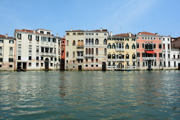 Views of Venice from the Grand Canal