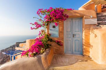 Santorini, Grecja. Wioska Oia.