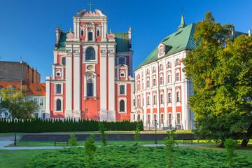 Architektura starego miasta w Poznaniu.