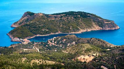 Assos in Kefalinia, ionian Islands, Greece