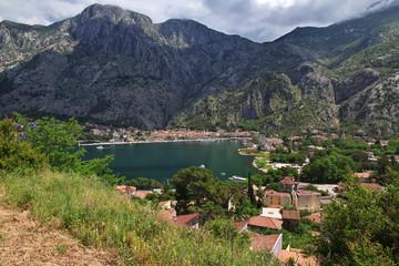 Kotor, Montenegro, Bay of Boka-Kotorska, Adriatic Sea, Balkans