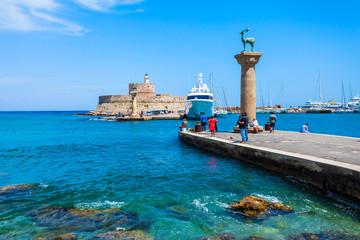 Saint Nicholas Fort, Rhodes island