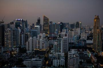Bangkok au crépuscule