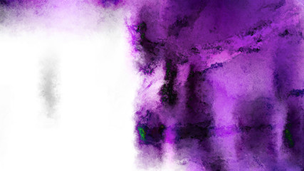 Purple Black and White Watercolor Background Image