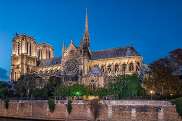 Cathedral Notre-Dame in Paris
