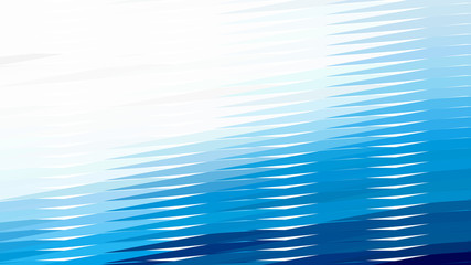 Abstract Blue and White Horizontal Lines and Stripes Background Vector