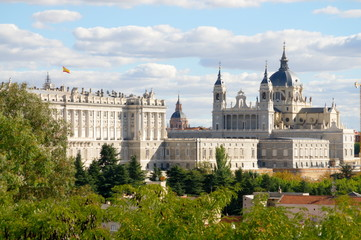 Nice view from Madrid - Spain