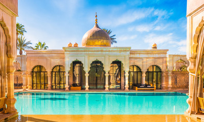 Namaskar palace, luxury hotel and spa of Marrakech, Morocco