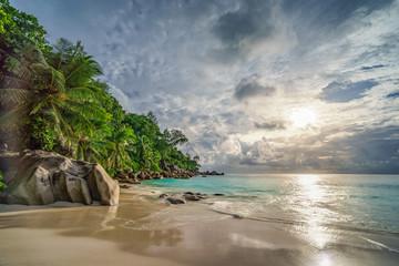 paradise beach at anse georgette, praslin, seychelles 16