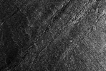Black stone background and texture.