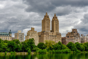 Stormy Sky, View from Central Park
