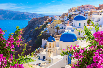 Santorini island, Greece.