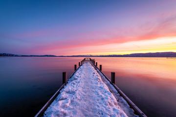 Valhalla Pier at Dawn