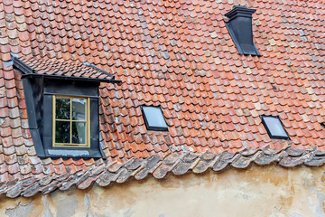 architecture in visby old town