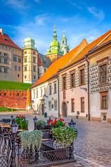 The city of Krakow, Poland