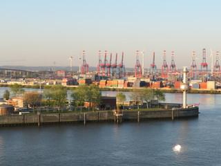 Im und um den Hamburger Hafen