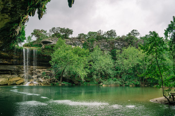 Spring time at Hamilton Pool Preserve