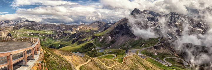 Alps, Großglockner Hochalpenstraße, Austria, Europe, xxl+more: bartussek.xmstore