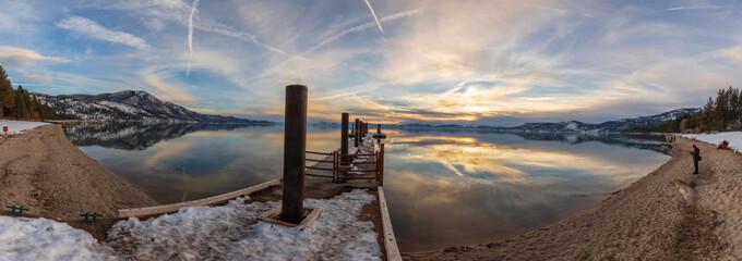 Incline Village panoramic, Lake Tahoe
