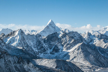 Ama Dablam in the distance