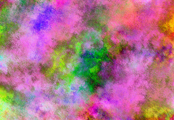 Background of watercolor paint stains. brush strokes.