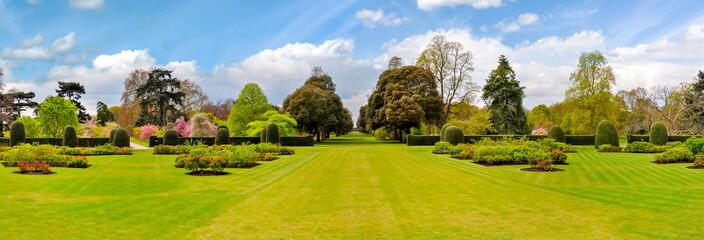 Spring in Kew botanical garden, London, UK
