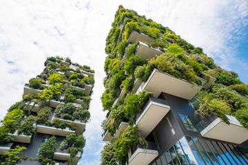 Skyscraper named Vertical Forest in Milan