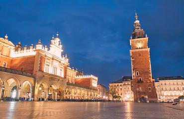 Town Hall Tower. Krakow, Poland.