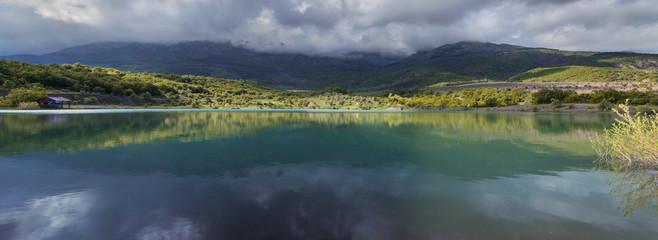 Lake Khun, Crimea panorama